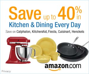 Amazon Kitchen Banner