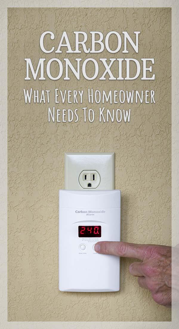 Carbon Monoxide in Your Home