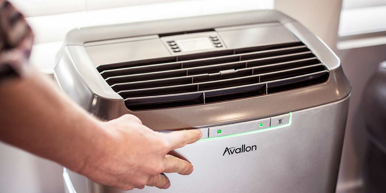 Portable Air Conditioner in Home